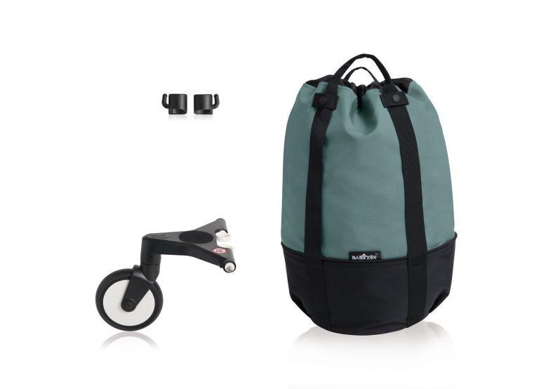 YOYO bag בייביזן צבע התיק: aqua (אקווה)